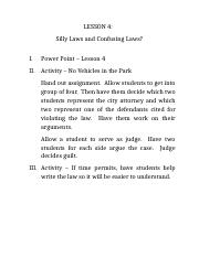 lesson4 - Silly and Confusing Laws.docx