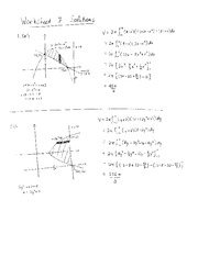 PHYS 350 Worksheet 7 Solutions