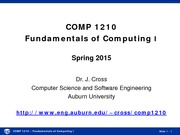 Spring 2015 Lecture 01 Introduction