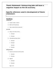Thesis Statement and Outline (1).docx