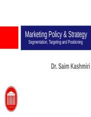 Segmentation Targeting and Positioning BB version(1) (1).ppt