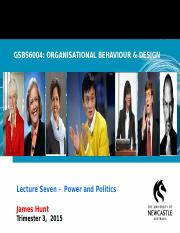 GSBS6004 L7 Power & Politics 2015 Weblearn (2).ppt