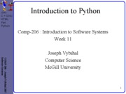 lecture 36 week11 Python
