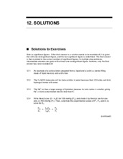 CHEM110 Chapter 12 Solutions