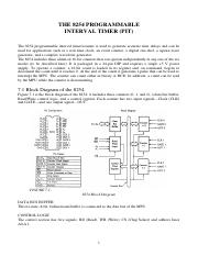 lec 5 - THE 8254 PROGRAMMABLE INTERVAL TIMER (PIT).pdf