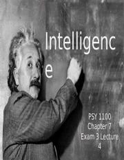 Psych Exam 3-Intelligence.ppt