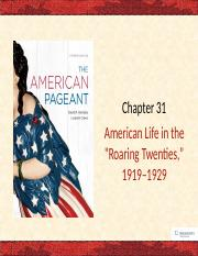 ch 31 - american life in the roaring twenties-2