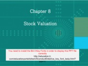 Chap008_Equity Markets and Stock Valuation