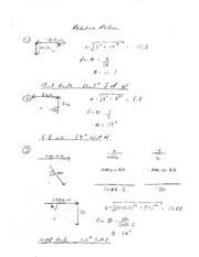 Relative Motion Solutions