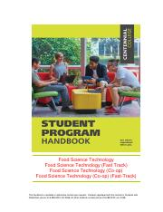 Food Science Technology - Student Handbook.Sept 2018.pdf