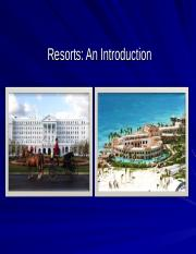 Resort: an introduction