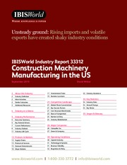 33312 Construction Machinery Manufacturing in the US Industry Report