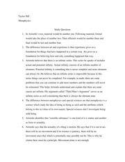 aristotle essay questions Suggested essay topics and study questions for aristotle's nicomachean ethics perfect for students who have to write nicomachean ethics essays.