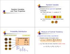 03  Random Variables and Their Properties