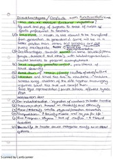 Disadvantages and Conflicts with Functionalists Views Lecture Notes
