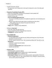 Econ Txtbook Notes chapter 2