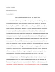 Faces of Honor Essay