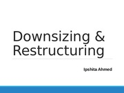 Downsizing & Restructuring FINAL