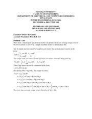 Fall 2002 Solutions Final Exam