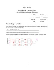 Simulation Lab 2 Template