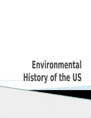 Environmental History of the US.pptx