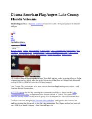 hum 111  Obama American Flag Angers Lake County.docx