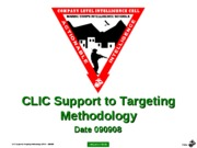 (CLNC Edit)I - usmc (CLIC-SOP) CLIC Support to Targeting Methodology - PPT (090908) (NXPowerLite)