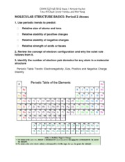 CHEM 232 FA13 Exam 1 Review Packet