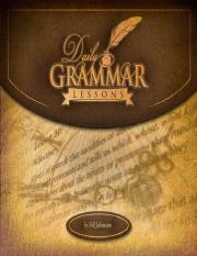 Daily Grammar Lessons eBook - All Sections _ Chapters Combined