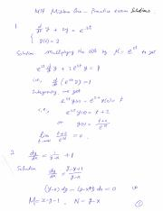 Solutions to Midterm 1 Practice Problems