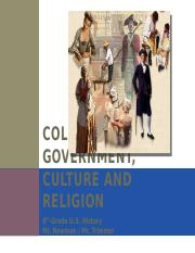 Colonial Government, Culture and Religion-1.pptx