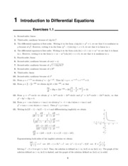 Math240 Solutions