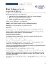brendathomas1 hs440 01 unit 2 assignment Essay bu204 macroeconomics unit 2 assignment 1846 words nov 6th, 2012 8 pages show more renea frymoyer bu204 01  essay brendathomas1 hs440 01 unit 2.