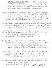 homework 7 solutions on Introduction to Advanced math