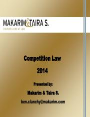 141108 IPMI Introduction to Competition Law