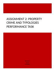 Property crime and Typologies Performance Task.docx