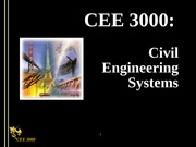 CEE30002007Lecture1