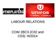 CH 11 LABOUR RELATIONS