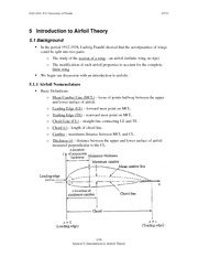 5 Introduction to Airfoil Theory EAS 4101 S11
