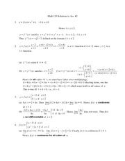 2. Math_120_2010_ASSIGNMENT2 solution