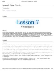 Lesson 7_Virtualization