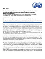 2010_SPE-139307-MS_New Design of High-Performance Cement Systems for Zonal Isolation Influence on Po