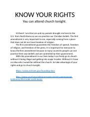 KNOW YOUR RIGHTS.docx