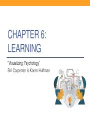 Chapter 6 - gen-psych