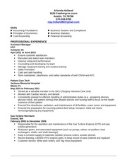 Arlonda Holland (resume)