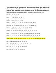 Recommended Problems_Phys121_Updated.docx