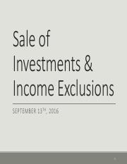 Sale of Investments   Exclusions - 9-13-16.pdf
