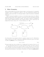 lecture notes on more geometry