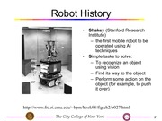 EE I5501 Lecture on Robotics (Part 2)