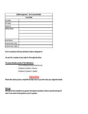 Assignment 2 Part C Template Answer Booklet